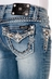 Miss Me Girls Studs With Raw Fray Capri Jeans (Closeout)