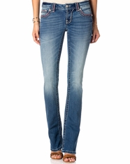 Miss Me Women's Slim Boot Jean - MED 313
