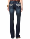 Miss Me Womens Bootcut Jeans - DK 291