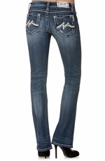 "Miss Me Womens Denim Brand ""M"" Boot Cut Jeans"