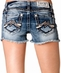 Miss Me Womens Hipster M Frayed Shorts - MK 177