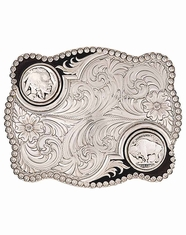 Montana Silversmiths Buffalo Nickel Belt Buckle