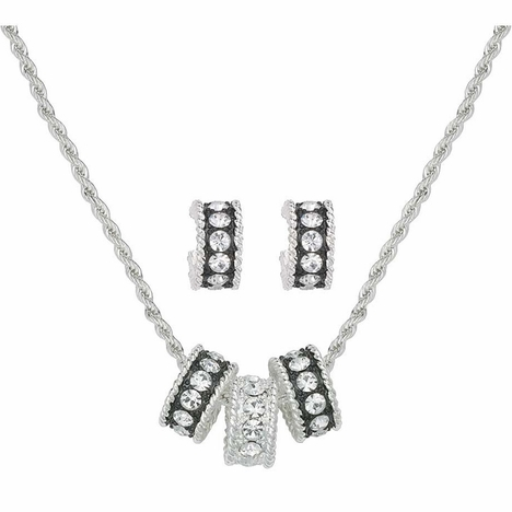 Montana Silversmiths Crystal Shine Jewelry Set (Closeout)