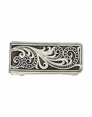 Montana Silversmiths Men's Western Lace Whisper Money Clip