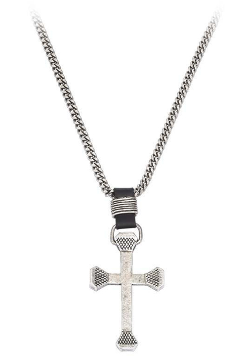 Montana Silversmiths Men's Retro Cross Necklace