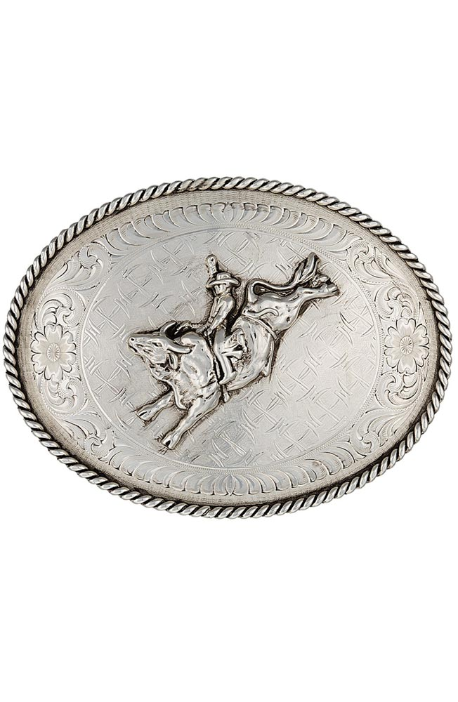 Montana Silversmiths Mens Don't Fence Me In Belt Buckle