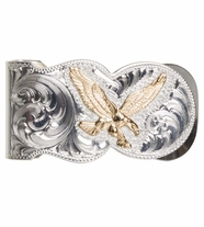 Montana Silversmiths Mens Eagle Money Clip