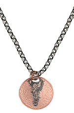 Montana Silversmiths Mens Shade in the Noon Sun Necklace
