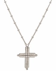 Montana Silversmiths Women's Convertible Cross Necklace