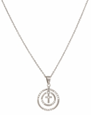 Montana Silversmiths Women's Multi Round Cross Necklace