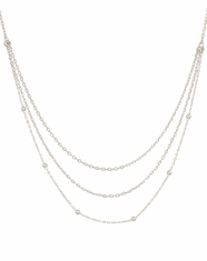 Montana Silversmiths Women's Triple Strand Necklace