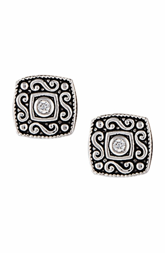 Montana Silversmiths Womens Prairie Oasis Earrings