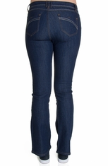 Nina Rossi J.Z Juniors Boot Cut Jeans - Dark Stone (Closeout)