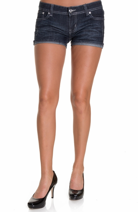 Nina Rossi Womens Junior's Embellished Shorts (Closeout)