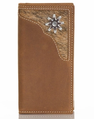 Nocona Boy's Spur Rowel Rodeo Wallet - Brown