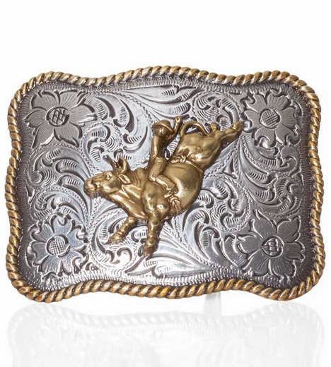 Nocona Kids Bullrider Belt Buckle