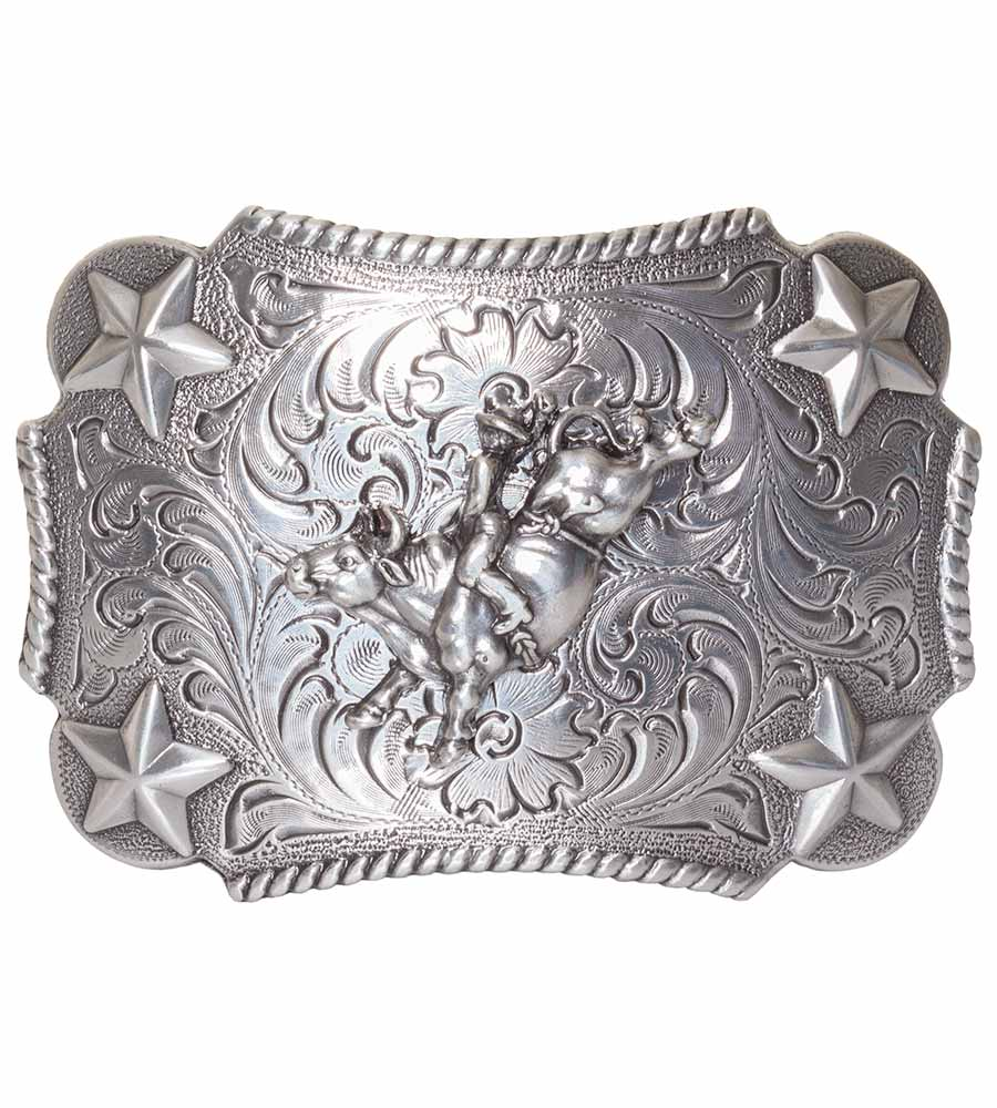 Nocona Kids Star Bullrider Belt Buckle