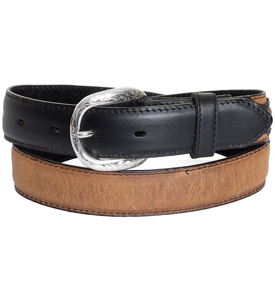 Nocona Kids Western Concho Belt - Black/Brown