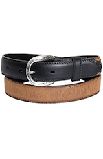 Nocona Kids Western Concho Belt - Black/Brown (Closeout)