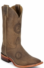 "Nocona Men's 11"" College Cowboy Boots - Alabama Crimson Tide (Closeout)"