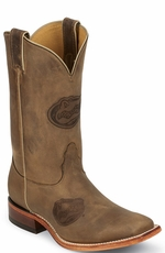 "Nocona Men's 11"" College Cowboy Boots - Florida Gators"