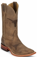 "Nocona Men's 11"" College Cowboy Boots - Texas Longhorns (UT)"