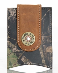 Nocona Men's Shotgun Mossy Oak® Money Clip - Camo