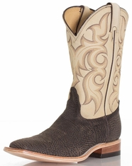 Nocona Men's Square Toe Boots - Cappuccino (Closeout)