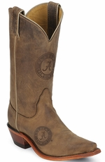 "Nocona Women's 11"" College Cowboy Boots - Alabama Crimson Tide (Closeout)"