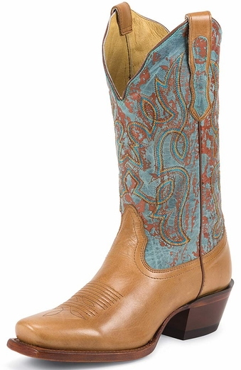 Nocona Womens Karma Bliss Boots - Tan/Oxido (Closeout)