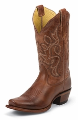 Nocona Womens Snip Toe Cowboy Boots - Honey Vaquero