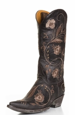 Old Gringo Women's Julie Cowboy Boots - Vesuvio Chocolate