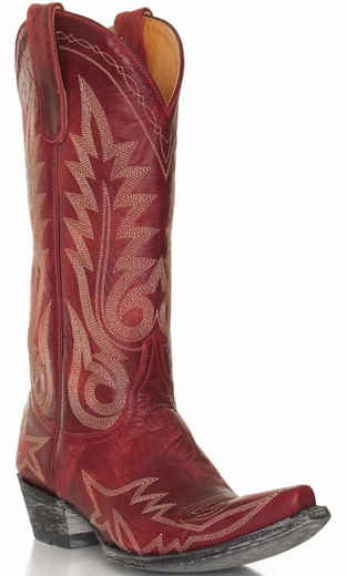 Old Gringo Women's Nevada Cowboy Boots - Red