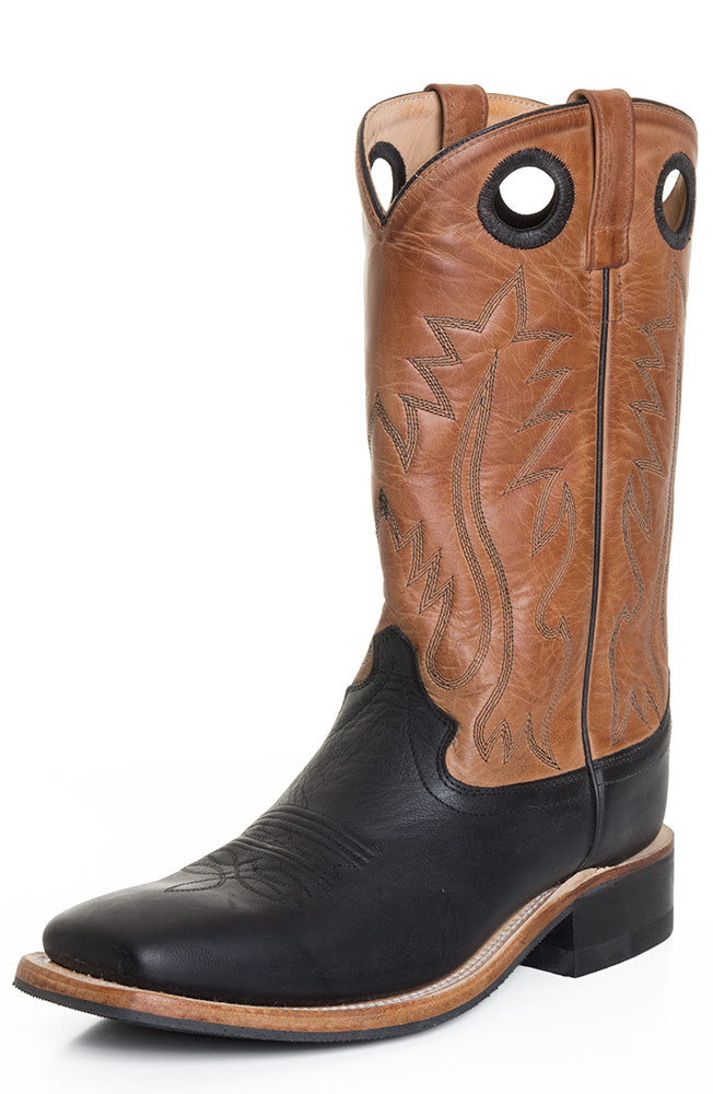 Black Square Toe Boots Mens Old West Mens 13 Square Toe