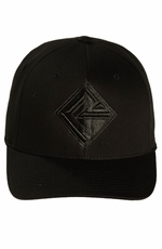 Rock & Roll Cowboy Men's Logo Cap - Black