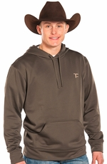 Panhandle Slim Men's Tuf Cooper Fleece Hoodie - Black or Olive (Closeout)