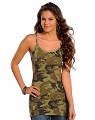 Panhandle Slim Women's Cami Top - Camo