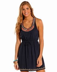Panhandle Slim Women's Sleeveless Dress - Navy