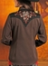 Panhandle Slim Retro Womens Long Sleeve Rio Vista Western Shirt - Brown (Closeout)