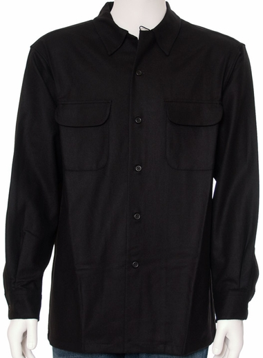 Pendleton Men's Long Sleeve Board Shirt - Black