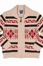 Pendleton Westerly Cardigan - Vintage Cream