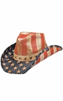 Peter Grimm Justice America Drifter Hat - Blue