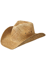 Peter Grimm Maverick Drifter Cowboy Hat - Brown
