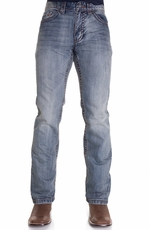 Petrol Mens Peyton Regular Boot Cut Jeans (Closeout)