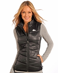 Powder River Women's Kenai Performance Vest - Black