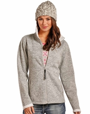 Powder River Women's Knit Jacket - Grey