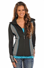 Powder River Women's Performance Fleece Jacket - Black (Closeout)