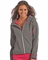Powder River Women's Performance Softshell Jacket - Grey (Closeout)