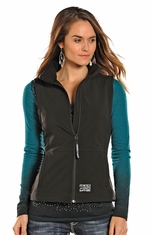 Powder River Women's Performance Vest - Black (Closeout)