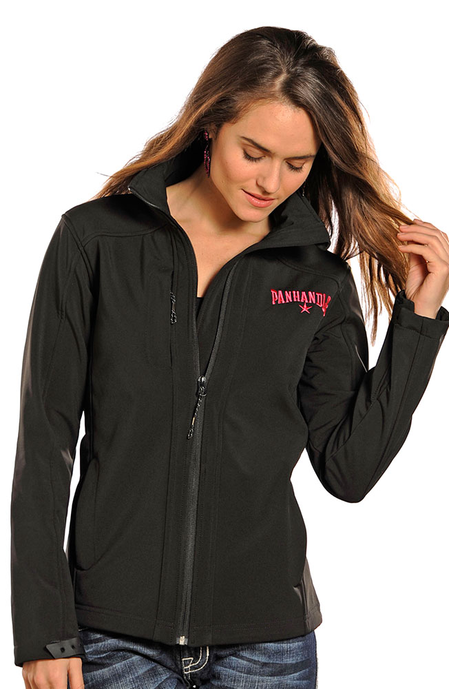 Powder River Women's Softshell Fleece Jacket - Black